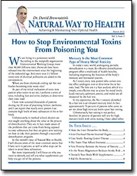 How to Stop Environmental Toxins From Poisoning You